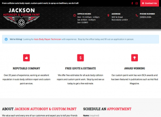 Jackson Auto Body & Custom Paint
