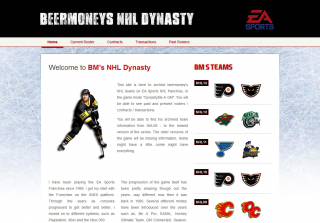 beermoney's NHL Dynasty